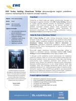 EWE Turkey Holding, GlassHouse Türkiye danışmanlığında dağıtık