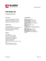 POLYMAX G5 - Allmax Yapı Kimyasalları