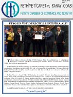 """""""www.fto.org.tr"""" - Fethiye Ticaret ve Sanayi Odası"""