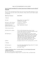 Özel Güvenlik Hizmeti Alımı - İzmir Halk Sağlığı Müdürlüğü