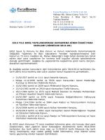 2014-69 2014 yılı borç yapılandırması kapsamına