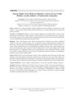 Balıkesir-Bigadiç - Biyoloji Kongreleri