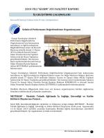 Kasım 2014 Faaliyet Raporu İndir