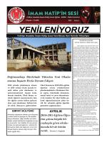 Okul Gazetemizi Okumak İçin Tıklayınız