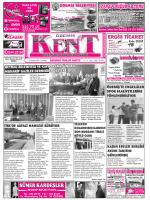 20-12-2014 Tarihli Kent Gazetesi