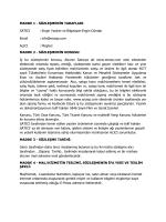 MADDE 1 - SÖZLEŞMENİN TARAFLARI SATICI : Engin Yazılım ve