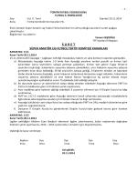 sal tertip komitesi kararı - T.F.F. İstanbul İl Başkanlığı