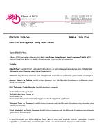 SİRKÜLER: 2014/046 BURSA, 13.06.2014 Konu: Yeni KDV