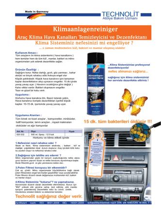 Araç K - teknolit.com.tr