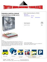 PANJURLU AKSİYAL FANLAR 142x142x54cm 43.000 m3/h