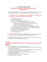 2. DUYURU/20.10.2014 Kredi Yurtlar Kurumu Bursunu Almaya