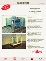 Makaslı Tip Engelli Lifti Ürün Broşürü