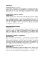 Yönetim Kurulu Üye Adayları Hakkında Bilgi