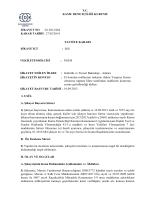 T.C. KAMU DENETÇİLİĞİ KURUMU ŞİKAYET NO :01.2013/684