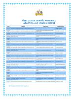 özel çocuk durağı anaokulu ağustos ayı yemek listesi