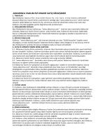 Satış Sözleşmesi - Akkarınca Yazılım Evi