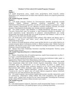 Senato 2013-9-5 YYÜ Çift Anadal Programı Yönergesi
