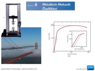 Callister Mekanik Özellikler