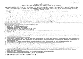 (2014-16) sayfa 01 4458 sayılı gümrük kanunu ve 5607 sayılı