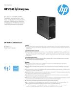 PSG EMEA Commercial Workstation 2014 Datasheet