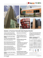 Alphaton ve Favemanc Terracotta Cephe Kaplama Panelleri