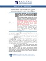 Yeni Nesil Ödeme Kaydedici Cihaz Kayıt Süresi ve Levhasının