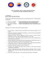 MKT-2014 Çalıştay Konuşmaları - Proje Tabanlı Mekatronik Eğitimi