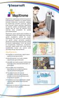 MapXtreme SDK, masaüstü ve web ortamları kurulumlar