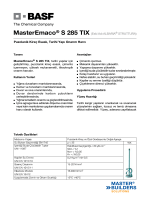 MasterEmaco® S 285 TIX (Eski Adı ALBARIA