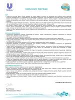 TUR KALPOL001 2014-04-15 ÜRÜN KALİTE POLİTİKASI
