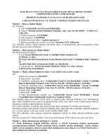 İdari Şartname - Elektrik İşleri Etüt İdaresi Genel Müdürlüğü