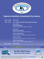 Ekim Ayı Türk Epilepsi ile Savaş Derneği Aylık Bilimsel Toplantısı