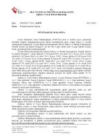 T.C. AİLE VE SOSYAL POLİTİKALAR BAKANLIĞI Eğitim ve Yayın