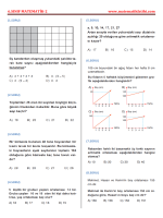 6.sınıf matematik-2 - Matematikfatihi.com