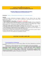 başvuru ve kabul şartları - Harran Üniversitesi AB Ofisi