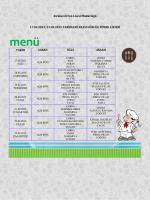 17/23 Şubat Yemek Listesi