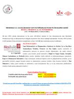 rusya / moskova & st. petersburg mosbuıld 21. uluslararası yapı ve