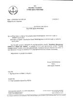 İl Milli Eğitim Müdürlüğü´nün 23/02/2015 tarih 1992104 sayılı Resim
