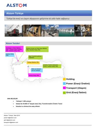 Alstom Türkiye Kimlik Kartı