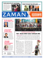 `Türk - Romen Kültür Galası` muhteşem oldu