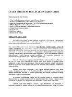 şartname - Üçler Sitesi Yönetimi