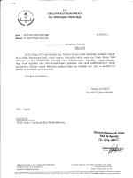 YAZI - Ergani İlçe Milli Eğitim Müdürlüğü