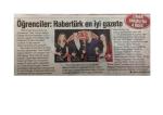 """""""Yeni Yüzyılın İletişim Ödülleri 2013""""te Habertürk """"En iyi"""
