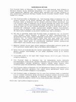 BAĞIMSIZLIK BEYANI Türk Prysmian Kablo ve Sistemleri A.Ş