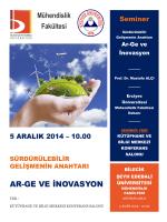 AR-GE VE İNOVASYON - Bilecik Üniversitesi