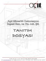 pdf katalog ındır - Açıt Mimarlık Dekorasyon