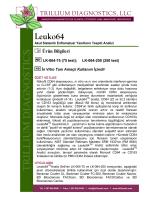 Leuko64 - Trillium Diagnostics