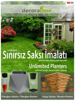 Ah§ap Saksllar /Wooden Planters