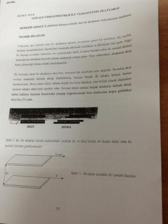 Deney 1: Viskozite Ölçüm Yöntemleri