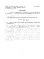 ELE 273 Ödev 5 Teslim tarihi: 3 Aral k 2014